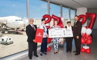 الصورة: «طيران الإمارات» تنقل 5 ملايين مسافر على خط بيروت  في 27 عاماً