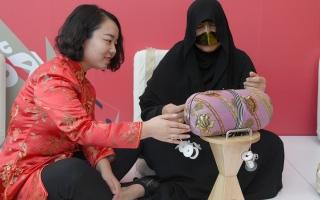 الصورة: «تراث الإمارات» يشارك في «الأسبوع الإماراتي - الصيني»