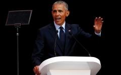 الصورة: أوباما يحذّر من «أوقات غريبة وغامضة»
