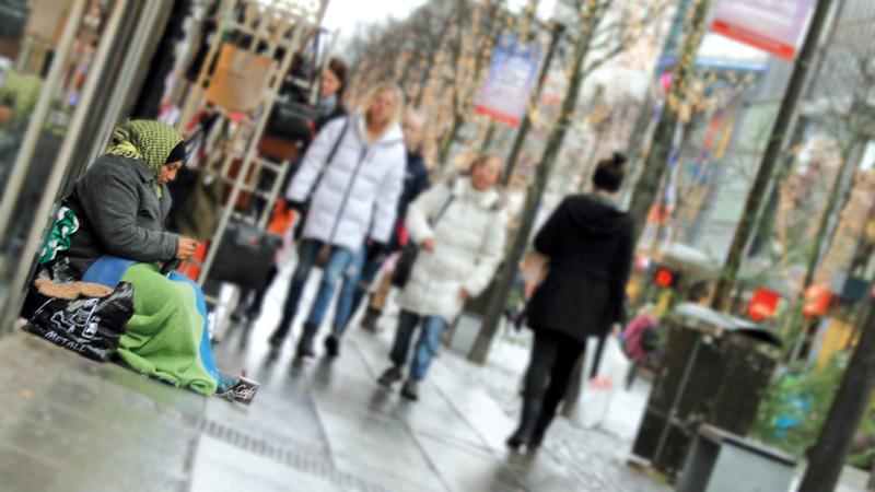 الغجر يستغلون حرية الحركة بين بلدان الاتحاد الأوروبي للذهاب إلى السويد.  أرشيفية