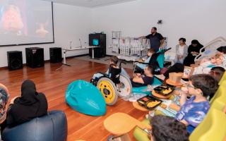الصورة: رحلة سينمائية لأطفال مستشفى الجليلة