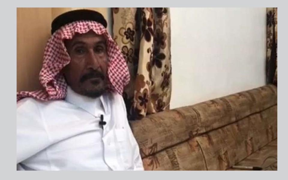 الصورة: مواطن سعودي لم ينم من 30 عاما