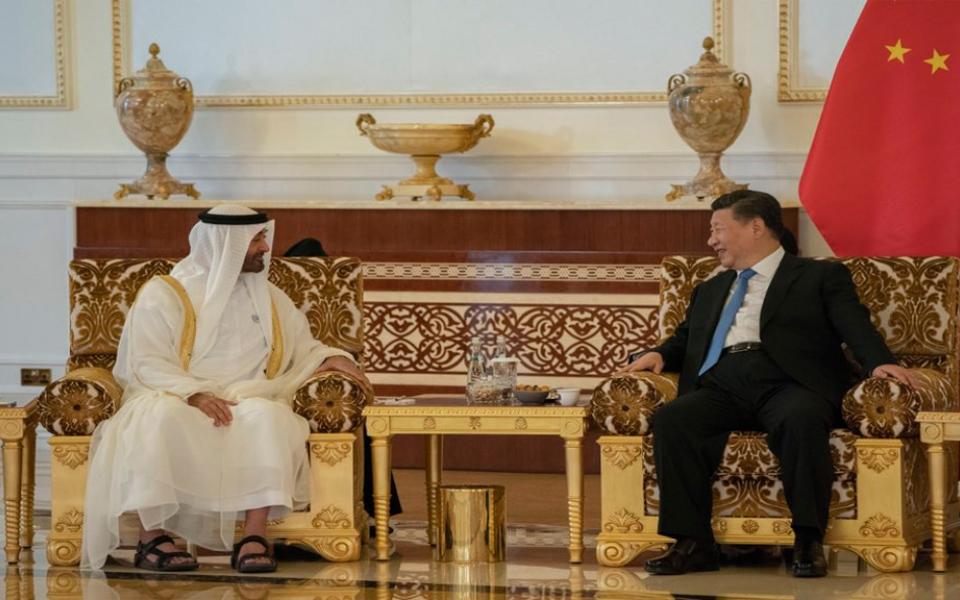 الصورة: محمد بن زايد: زيارة الرئيس الصيني تاريخية بكل المقاييس وتوثق لمرحلة جديدة بين البلدين