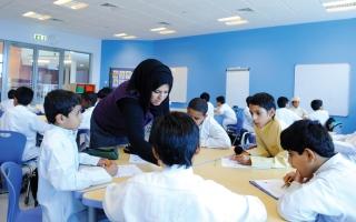 الصورة: تدريس «الصينية» في المدرسة الإماراتية يزيد التبادل المعرفي
