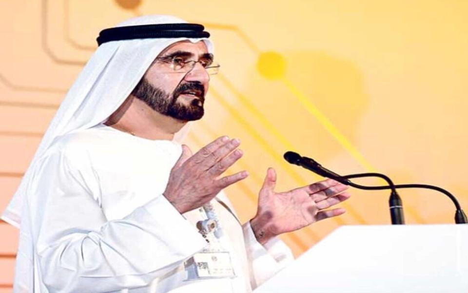 الصورة: محمد بن راشد: الإمارات السادسة عالمياً والأولى خليجياً وعربياً في الخدمات الذكية