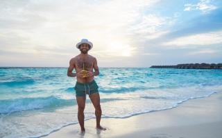 الصورة: بالصور.. محمد صلاح وسيلة المالديف للدعاية السياحية