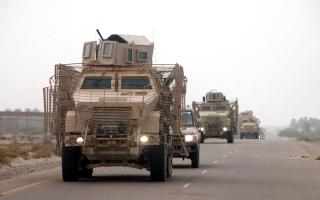 الصورة: «عملية الثقب» تحرر «مزهـر» وتحاصر الميليشيات الحوثية في باقــم صعدة