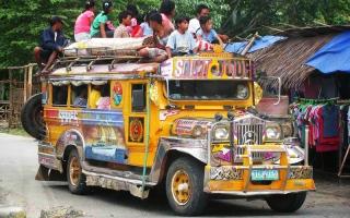 الصورة: حافلة الفلبين التقليدية «جيبني».. تُحال إلى التقاعد