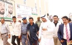 الصورة: قطاع التعليم في شبوة اليمنية يستفيد من دعم «الهلال الأحمر» الإماراتي