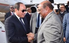 الصورة: السيسي: أمن السودان جزء لا يتجزأ من الأمن القومي المصري