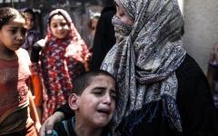 الصورة: 4 شهداء في غزة.. ومواجهات في جمعة «لن تمر المؤامرة على حقوق اللاجئين»