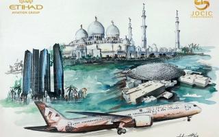 الصورة: «الاتحاد للطيران» تؤسس لشراكة استراتيجية مع «وراء البحار»