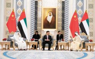 الصورة: الإمارات والصين.. إرادة سيــاسية قوية ترسخ مرحلة جديدة من التعاون