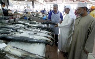 الصورة: 70 % من الأسماك المعروضة في الأسواق المحلية مستوردة