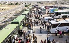 الصورة: جيش النظام يتقدم بدعم جوي روسي  إلى مشارف القنيطرة