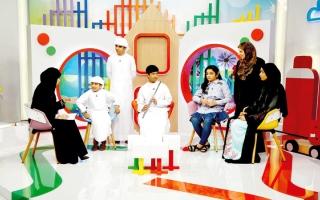 الصورة: «معاً أصدقاء».. نافذة على النماذج الإماراتية المبدعة والأطفال الموهوبين
