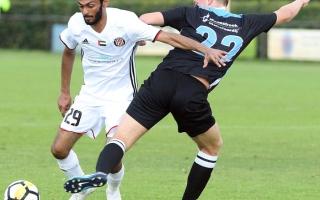 الصورة: الجزيرة يصعِّد اللاعب المصري عبدالله رمضان