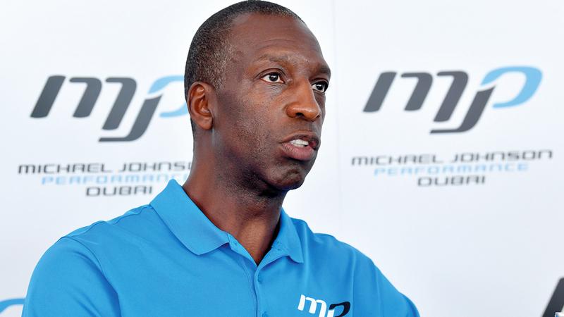 مايكل جونسون: «دبي عاصمة الرياضة على مستوى العالم، وتمثل فرصة فريدة للتميز».