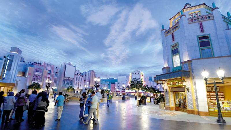 المشروع يستكمل جهود الإمارات باعتبارها مركزا أساسيا للسياحة العالمية. تصوير : إريك أرازاس