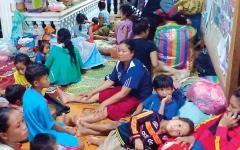 الصورة: مقتل 19 شخصاً بعد انهيار سد في لاوس