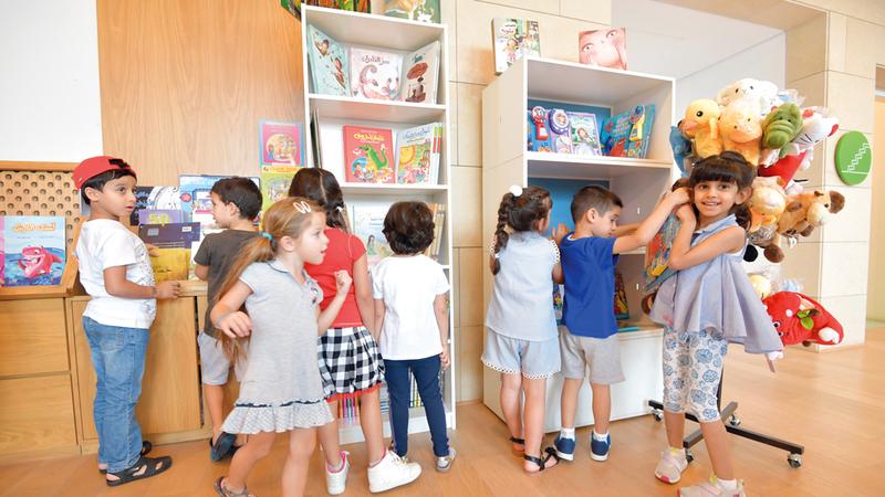 فعاليات متنوّعة تحفز خيال وإبداع الأطفال. تصوير: مصطفى قاسمي