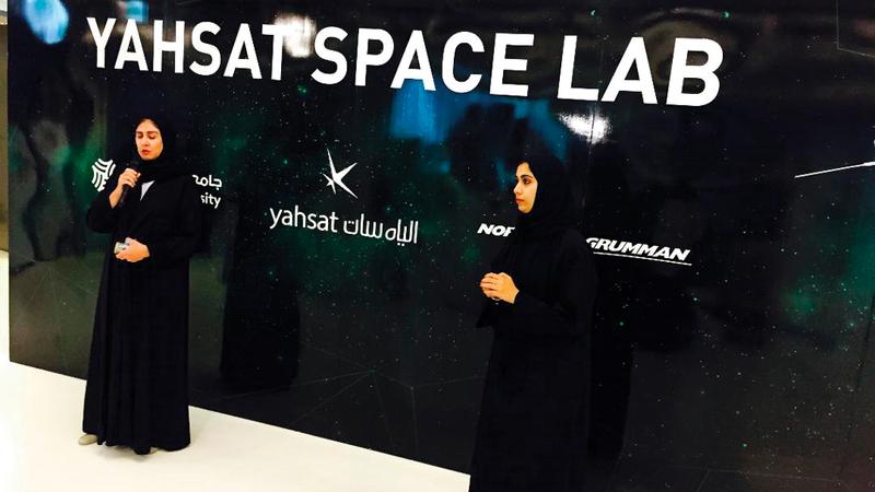 جميع مراحل بناء وتطوير القمر الاصطناعي «ماي سات1» نفذها طلبة مواطنون من جامعة خليفة. من المصدر