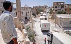 الصورة: السويداء تشيّع قتلاها الـ 250.. والأردن لن يجبر اللاجئين على العودة إلى بلدهــــــم