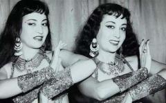 الصورة: راقصتان يهوديتان اتهمتا في مصـــــر بالجاسوسية تظهران مجدداً في الأرشيف الإسرائيلي