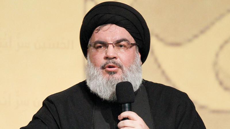 حسن نصرالله قال إن الهجمات الصاروخية ضد إسرائيل تمثل «مرحلة جديدة». إي.بي.أيه