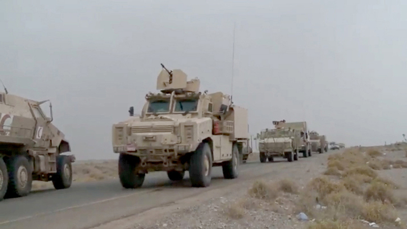تعزيزات كبيرة للمقاومة اليمنية المشتركة بدعم من التحالف لتحرير زبيد. وام