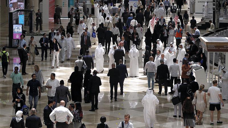 أكثر من 65 ألف مشارك في فعاليات دبي للأعمال خلال 6 أشهر. من المصدر
