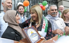 الصورة: إيرلندا مؤهلة للوقوف ضد جرائم الحرب الإسرائيلية
