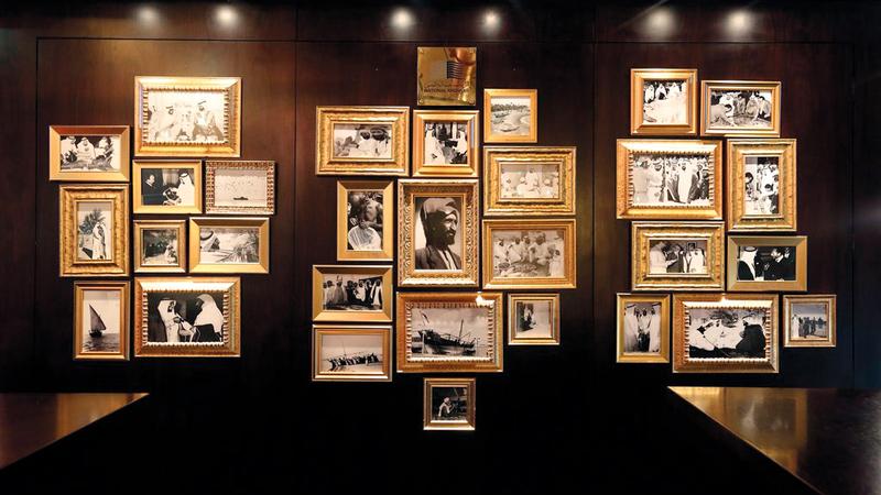 تاريخ الإمارات موثق بالصور ومعروض أمام زوار الدولة والمقيمين فيها. من المصدر