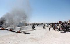 الصورة: أطراف النزاع في سورية تفرقهم المعارك وتجمعهم الملايين
