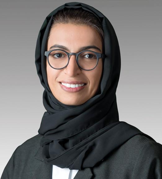نورة بنت محمد الكعبي، وزيرة الثقافة وتنمية المعرفة، مكلفة بمهمة اكتشاف المواهب الوطنية.