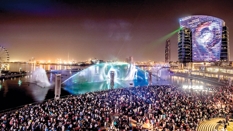 دبي عززت مكانتها وجهة سياحية مفضّلة لدى العديد من الزوّار في مختلف الأسواق. من المصدر