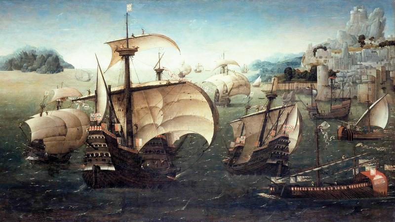 الرحلة كانت إبان اجتياح الأسطول البرتغالي بقيادة أفونسو دالبوكيركه للمنطقة عام 1507. أرشيفية