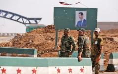 الصورة: موسكو تُطمئن إسرائيل بانســــحاب القوات الإيرانية من حدود الجولان