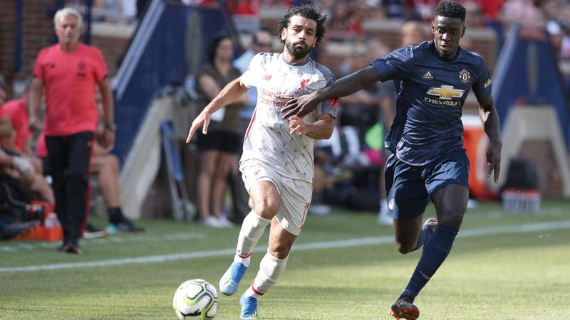 محمد صلاح جدّد عقده مع ليفربول لـ5 مواسم جديدة. غيتي