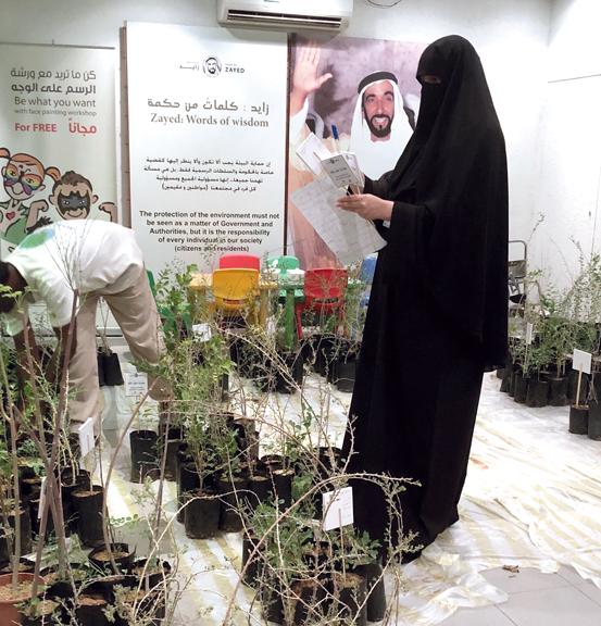 «الهيئة» حرصت على إبراز دور الشيخ زايد في تحقيق التوازن بين التنمية والبيئة. من المصدر