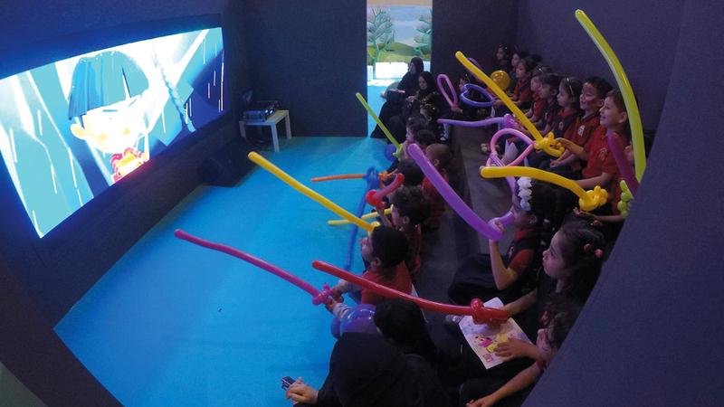 الأفلام شاركت في الدورة الخامسة من مهرجان الشارقة السينمائي الدولي للطفل. من المصدر