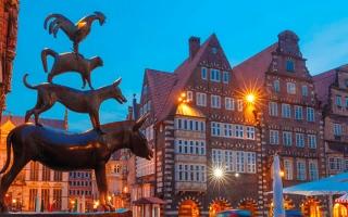 الصورة: «بريمن» الألمانية.. تحفة معمارية تدهش السياح