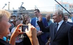الصورة: السمات الفكرية لبوتين تسهم في استعادة قوة روسيا على الساحة الدولية