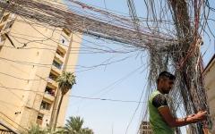 الصورة: مشكلات الكهرباء «المستفحلة» تعكس تردي أوضاع الشرق الأوسط