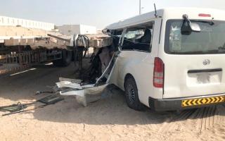الصورة: 3 مخالفات وراء 75% من الحوادث القاتلة في دبي.. أبرزها «الانحراف المفاجئ»
