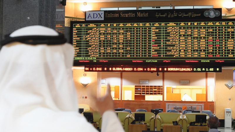 الدراسة تختص بشركات الخدمات المالية المدرجة في سوقَي أبوظبي ودبي للأوراق المالية. الإمارات اليوم