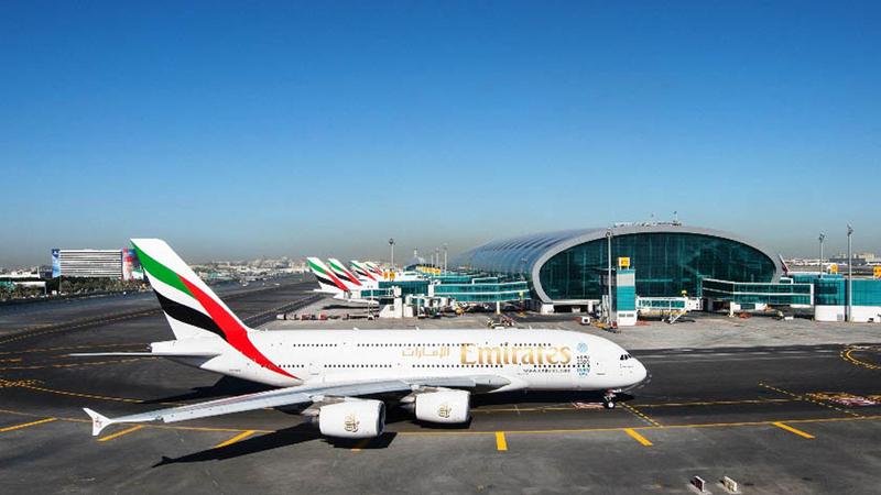 «طيران الإمارات» شغلت 15 ألفاً و755 رحلة جوية ذهاباً وإياباً خلال يونيو 2018. أرشيفية