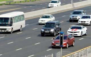 الصورة: زائر يرتكب مخالفات بـ 170 ألف درهم خلال 3 ساعات بـ«لامبورغيني» مستأجرة