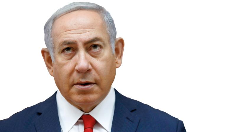 نتنياهو يصرّ على قانون يهودية الدولة. رويترز