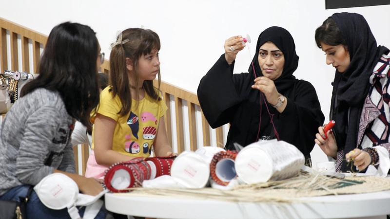 الأطفال أبرزوا مواهبهم وإبداعاتهم الفنية. من المصدر